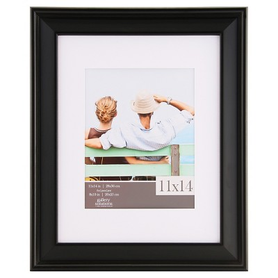 "Gallery Solutions 11""x14"" Frame - Black"