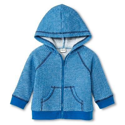 Baby Boys' Fleece Hoodie Zip-Up Electric Blue NB - Cherokee®