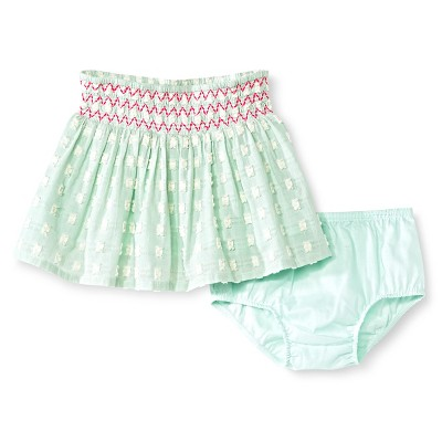 Baby Girls' Clip Spot Mini Skirt Green 18M - Genuine Kids from Oshkosh™