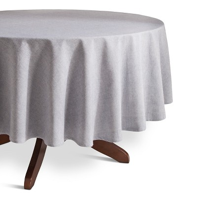 "Threshold™ Chambray Tablecloth - Blue (70"" Round)"
