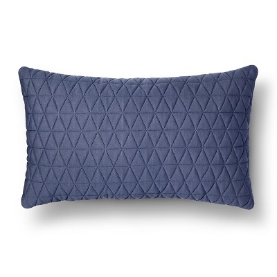 Jersey Diamond Lumbar Throw Pillow - Room Essentials™