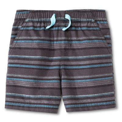 Toddler Boys' Fashion Short - Charcoal 12M - Circo™