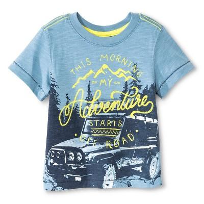 Toddler Boys' T-Shirt Basin Blue 12M - Cherokee®
