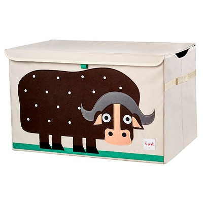 3 Sprouts Collapsible Storage Toy Chest - Buffalo