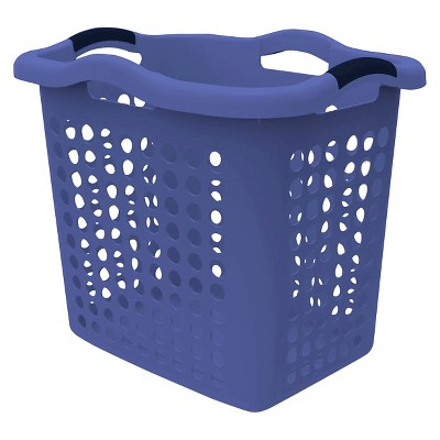 Home Logic 2 Bu. Laundry Hamper - Purple