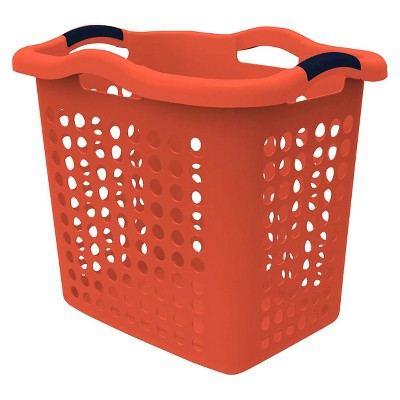 Home Logic 2 Bu. Laundry Hamper - Coral