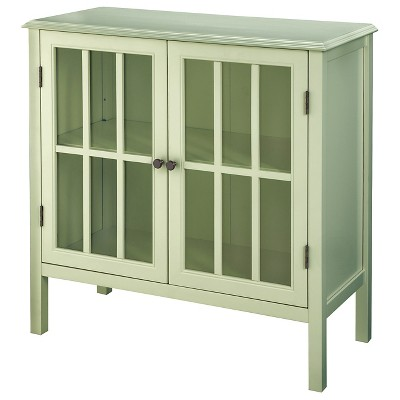 Windham  Two-Door Storage Cabinet Green Garnish - Threshold™
