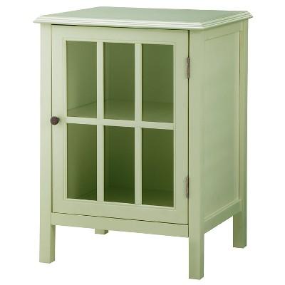 Windham One-Door Storage Cabinet Green Garnish - Threshold™