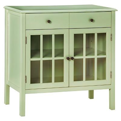 Windham  Two-Door with drawers Storage Cabinet Green Garnish - Threshold™