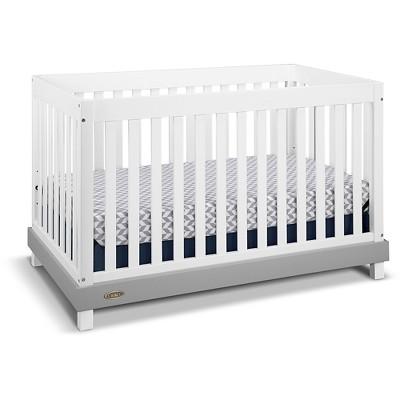 Graco Maddox 3-in-1 Convertible Crib - White/Pebble Gray