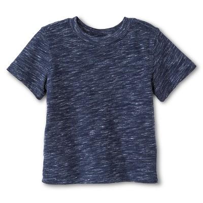 Baby Boys' T-Shirt Heather Navy 12M - Cherokee®