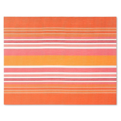 EVA Warm Stripe Placemat - Red - Room Essentials™