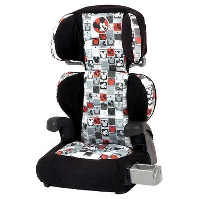 Disney Pronto Booster Car Seat Mickey Patchwork