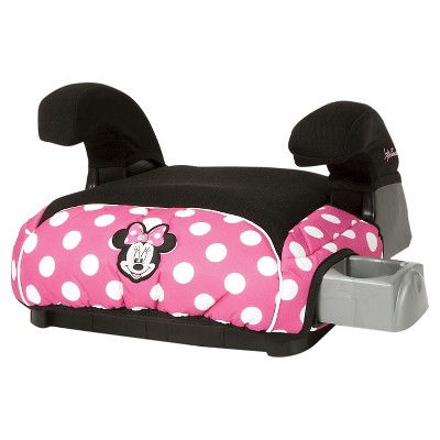 Disney Deluxe No-Back Booster Car Seat Minnie Dot