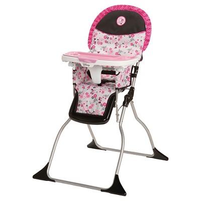 Disney Simple Fold Plus High Chair - Minnie Garden Delight