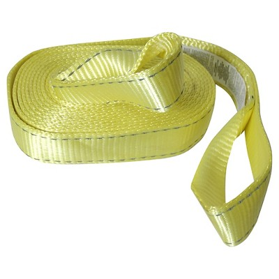 Reese Reflective Tow Strap with Loops - 20""