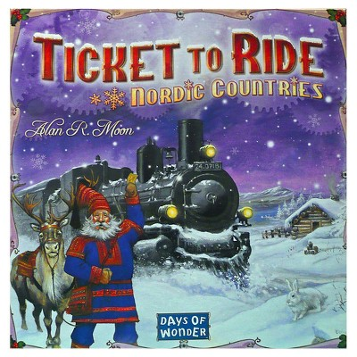 Days of Wonder Ticket to Ride Nordic Countries Strategy Board Game