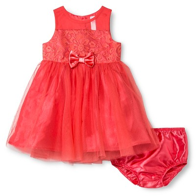 Imn Special Occasion Dresses Child Female Occasion Dresses Cherokee Hot Coral 18 M