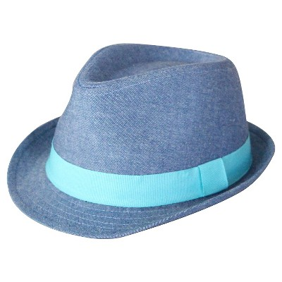 Infant Boys' Fedora - Chambray 12-24M