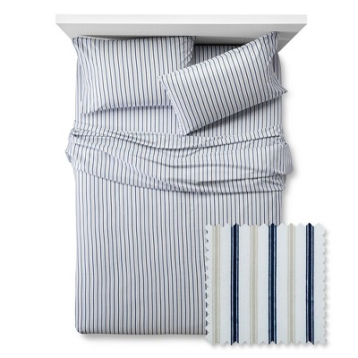 Vertical Stripes Sheet Set - Full - 4 pc - Multicolor - Pillowfort™