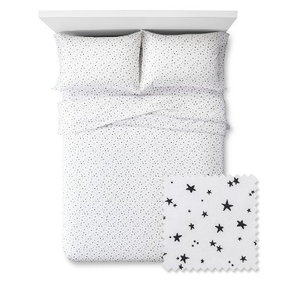 Constellations Sheet Set - Queen - 4 pc - Black&White - Pillowfort™