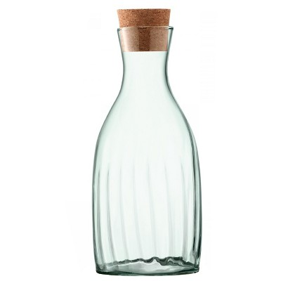 Mia 2.6L Handmade 100% Recycled Glass Carafe