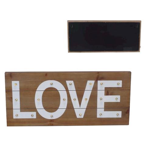 Love Light Up Wall D Cor Pillowfort Target