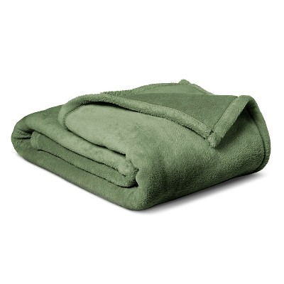 Plush Blanket - Twin - Green - Pillowfort™