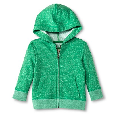 Toddler Boys' Activewear Sweatshirt Green 12M - Cherokee®