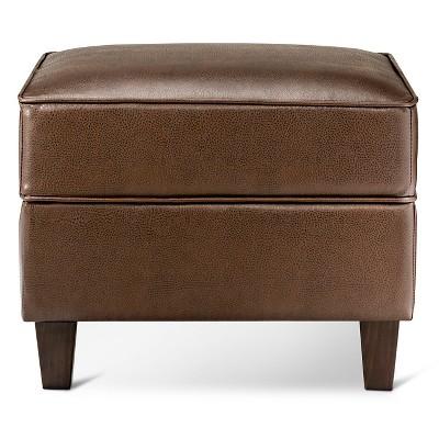 Richmond Storage Ottoman Brown - Threshold™