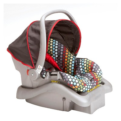 Cosco Light N Comfy DX Infant Car Seat - Rainbow Dots