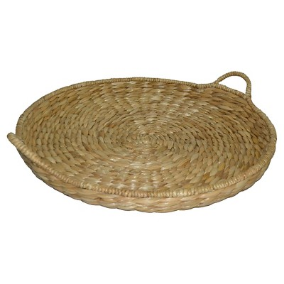 Round Woven Tray - Threshold™