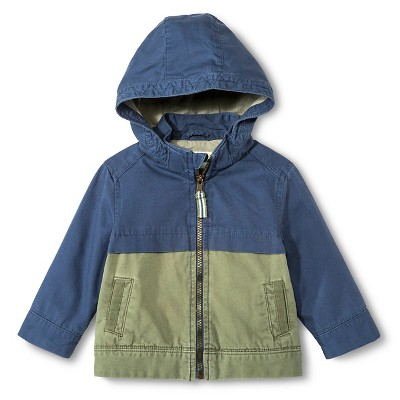 Toddler Boys' Fashion  Jacket - Metallic Blue 12M