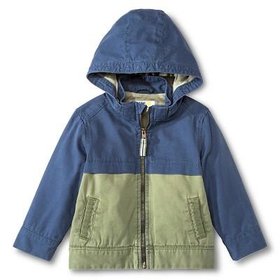 Male Fashion Jackets Genuine Kids Metallic Blue 4T