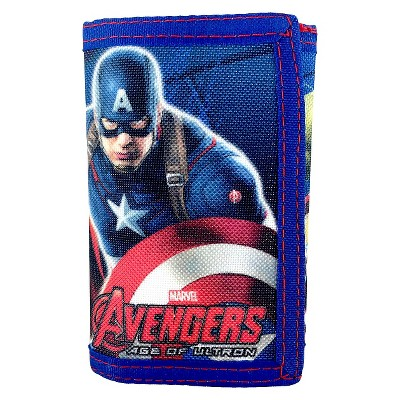 Boys' Avengers Trifold Wallet - Bright Navy