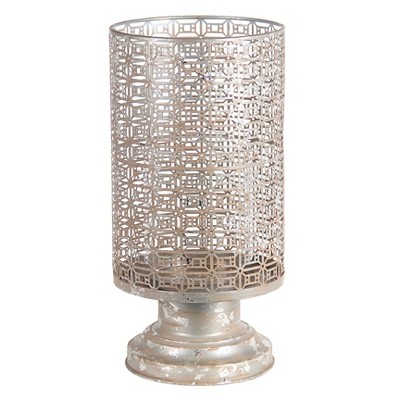 Privilege Medium Iron Candle - Silver
