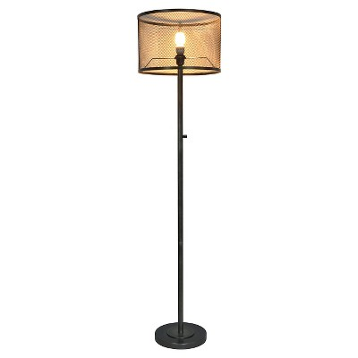Metal Mesh Floor Lamp - The Industrial Shop™