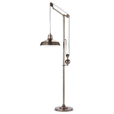 Pulley Floor Lamp - The Industrial Shop™