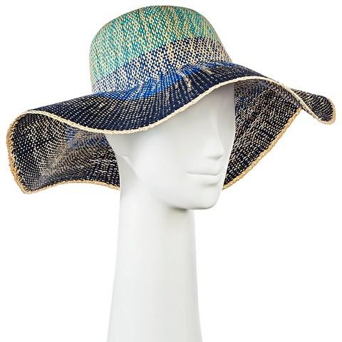 s floppy hat blue ombre merona target