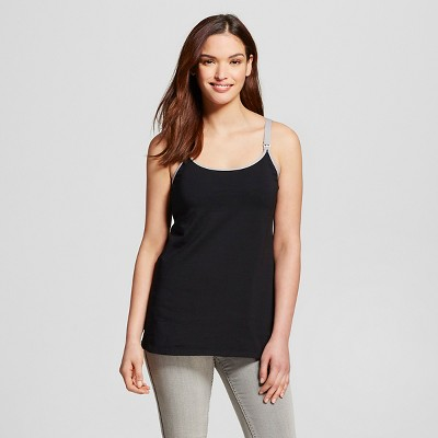 Women's Nursing Hands Free Pumping Cami Black S - Gilligan & O'Malley™