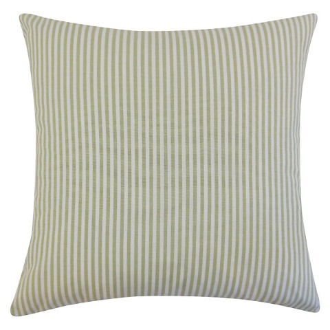 The Pillow Collection Stripe Decorative Pillow : Target