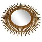 Linear Rattan Round Wall Mirror - Threshold™