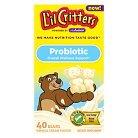Lil Critters Kid's Vanilla Cream Probiotic Gummies - 40 Count