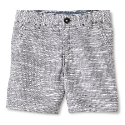 Toddler Boys' Chino Short Gray 12M - Cherokee®
