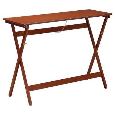 Folding Buffet Table Walnut - Linon Home Décor®