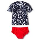 Just One You™ Made by Carter's® Toddler Girls' Americana Rash Guard Swimsuit Set