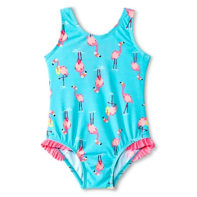 Just One You™ Made by Carter's® Baby Girls' Pink Flamingo One Piece Swimsuit 9M