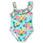 Just One You™ Made by Carter's® Toddler Girls' Mint Floral One Piece Swimsuit