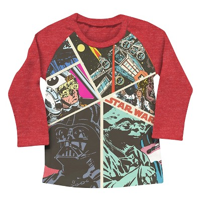 Star Wars Baby Boys' Sweatshirt - Red 18M