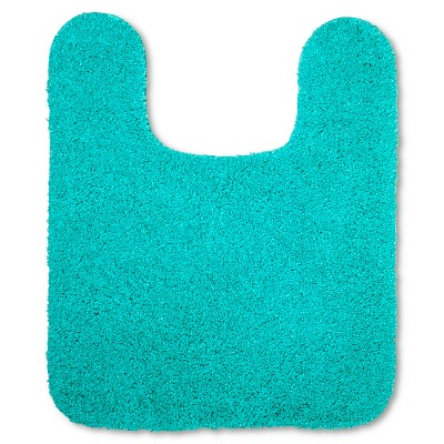 Room Essentials™ Contour Bath Rug - Teal Blue